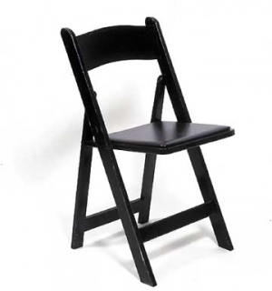 Wood Folding Chair-Satin