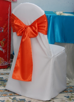 Banquet Polyester White